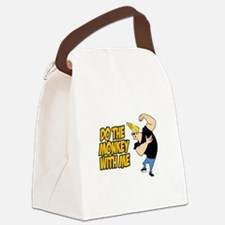 Do The Monkey Canvas Lunch Bag
