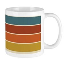 Retro Stripe Small Mug