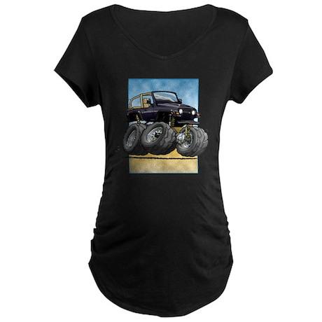 Black Wrangler Maternity Dark T-Shirt