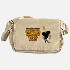 Cute Johnnybravotv Messenger Bag