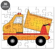 Cartoon Dump Truck Puzzle