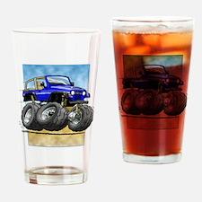 Blue Wrangler Drinking Glass