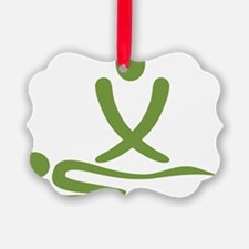 Green massage design Ornament