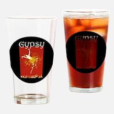 GYPSY_CAFE_RD copy Drinking Glass