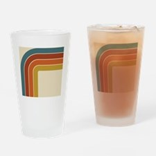 Retro Curve Drinking Glass