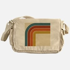 Retro Curve Messenger Bag