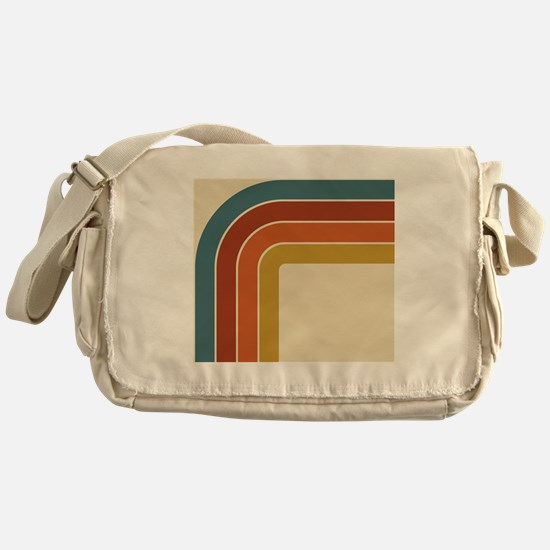 Retro Curve Messenger Bag