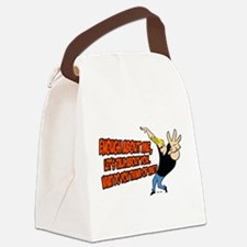 What Do You Think Of Me Canvas Lunch Bag
