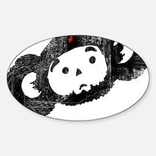che-burashka Sticker (Oval)