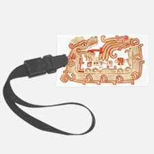 Xochicalco Serpent 1 Luggage Tag