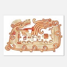 Xochicalco Serpent 1 Postcards (Package of 8)