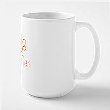 Little Sister Buttterfly Large Mug