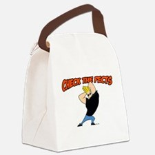 Check The Pecks Canvas Lunch Bag