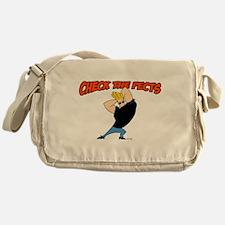 Check The Pecks Messenger Bag