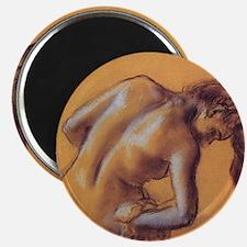 Edgar Degas Bather Magnet