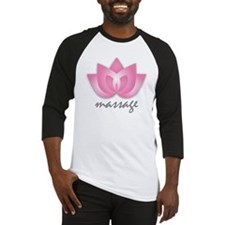 Lotus Flower - Massage Baseball Jersey