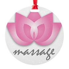 Lotus Flower - Massage Ornament