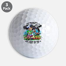 Where Theres Smoke BBQ Golf Ball