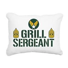 Grill Sergeant Rectangular Canvas Pillow