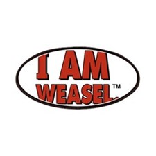 I Am Weasel Logo Patches