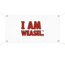 I Am Weasel Logo Banner