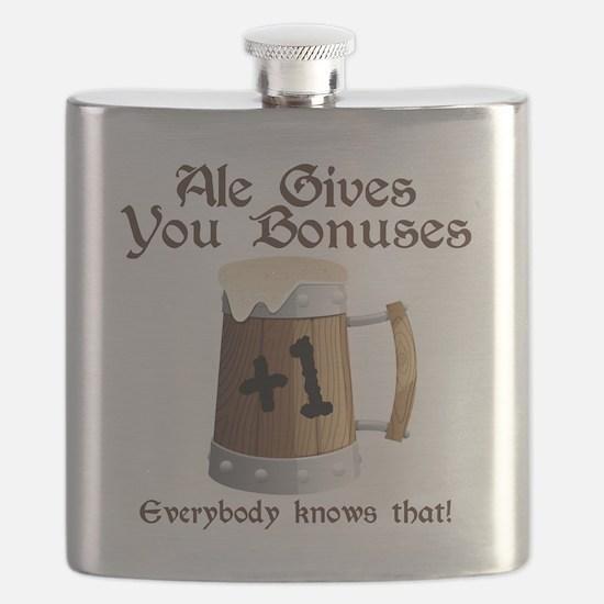 Ale Gives You Bonuses... Flask