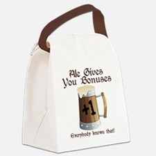 Ale Gives You Bonuses... Canvas Lunch Bag