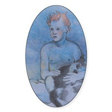Fire Hair - Mouse Pad Decal