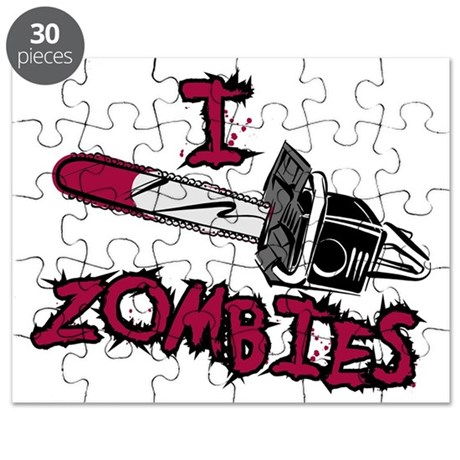 I Chainsaw Zombies Puzzle
