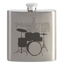 I T-Bagged your Drum Set Flask
