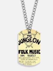 Vintage Austin Music Ad Dog Tags