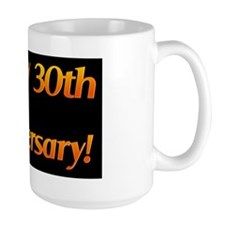 Happy 30th Anniversary Banner Mug