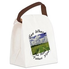 Where the road takes you Canvas Lunch Bag