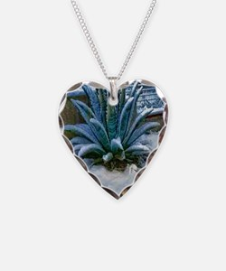 agave snow Necklace