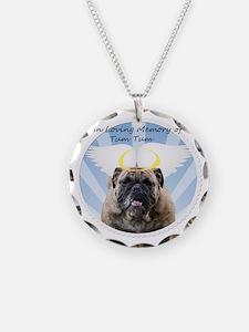 Bulldog angel Necklace