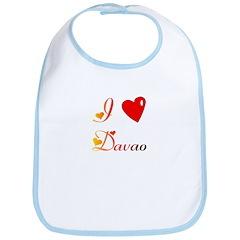 I Love Davao Gifts Bib