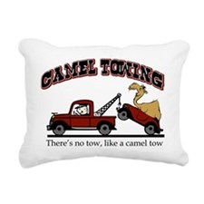 Camel Towing Rectangular Canvas Pillow