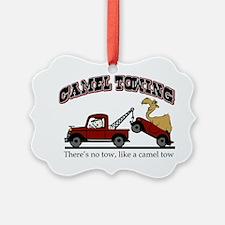 Camel Towing Ornament