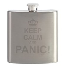 Keep Calm And Panic Flask