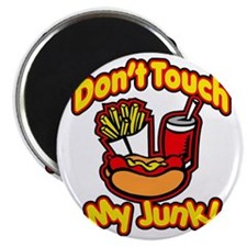 Dont Touch My Junk Magnet