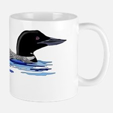 loon on lake Mug