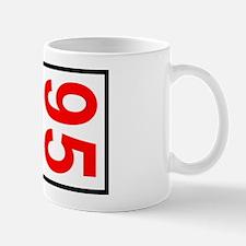 95 Autocross Number Plates Mug