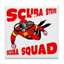 Scuba Steve Tile Coaster