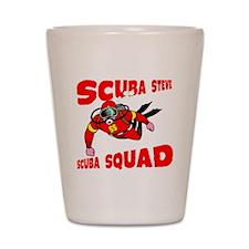 Scuba Steve Shot Glass