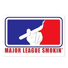 Major League Smokin Postcards (Package of 8)