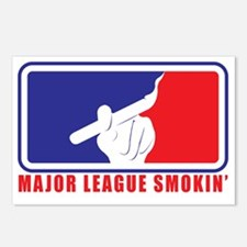 Major League Smokin Postcards (Package of 8)