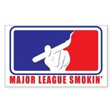 Major League Smokin Decal