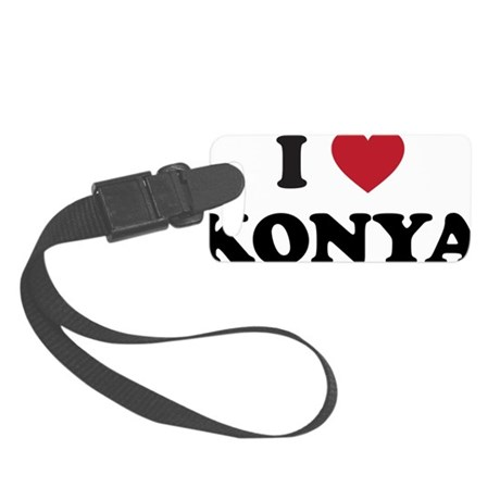 I Love Konya Small Luggage Tag
