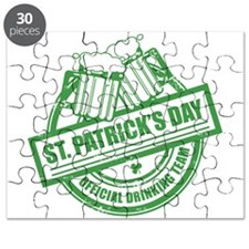 Cute Official st. patricks drinking Puzzle