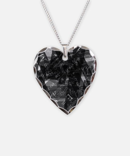 equationsblktransparent Necklace